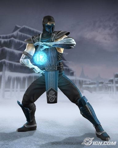 Mortal Kombat wallpaper containing a hip boot entitled Sub-Zero