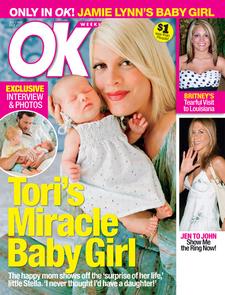 Tori With Baby Stella