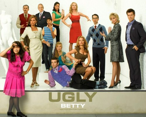 Vanessa Williams achtergrond possibly with a business suit entitled Ugly Betty
