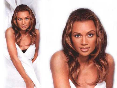 Vanessa Williams achtergrond with a portrait, attractiveness, and skin called Vanessa