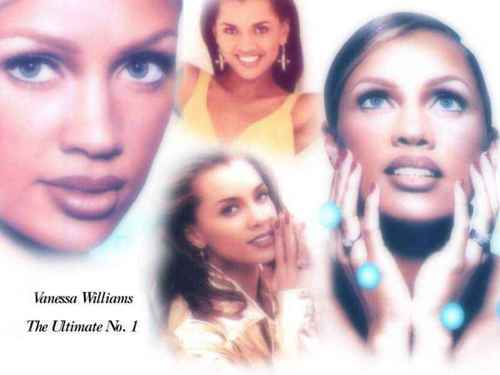 Vanessa Williams achtergrond with a portrait called Vanessa