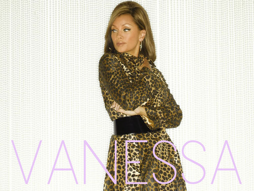 Vanessa Williams achtergrond probably with a hip boot and a shirtwaist called Vanessa