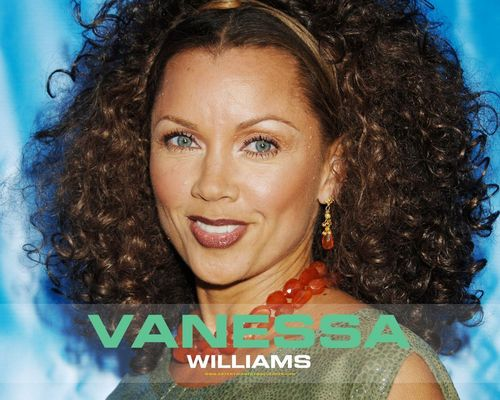 Vanessa Williams achtergrond containing a portrait called Vanessa