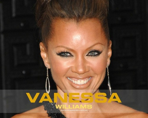 Vanessa Williams achtergrond probably containing a portrait called Vanessa