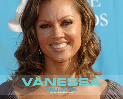 Vanessa Williams achtergrond containing a portrait titled Vanessa
