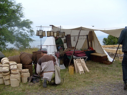 Renaissance Festivals 壁纸 containing a lumbermill and a chuck wagon entitled Viking Market 2008