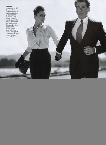 Vogue wallpaper containing a business suit, a suit, and a well dressed person entitled Vogue: June 2008