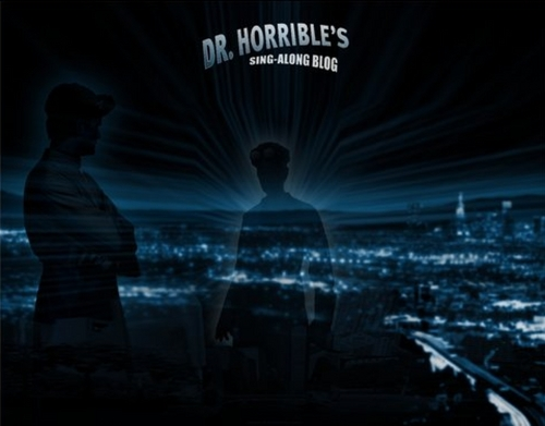 Dr. Horrible's Sing-A-Long Blog wallpaper containing a fontana titled wallpaper