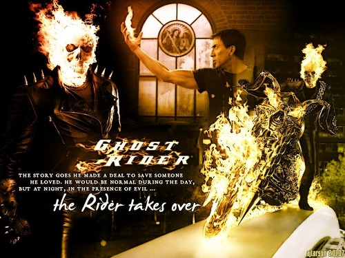 Ghost Rider wallpaper with a brasserie called When the Rider Takes Over
