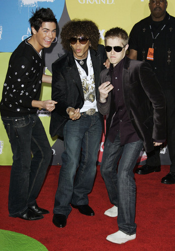 Zac, Corbin & Lucas at Billboard Awards