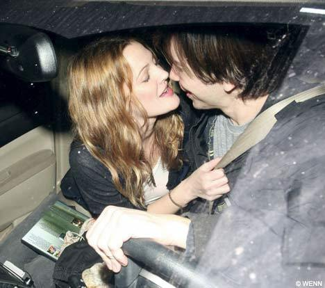 drew barrymore & justin long