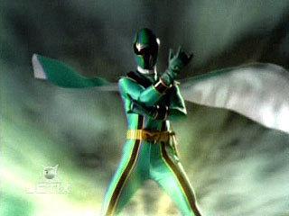 green mistic ranger