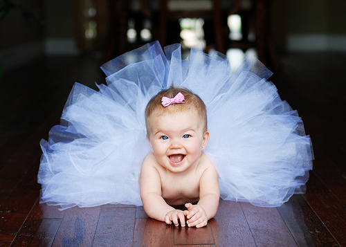 Photography wallpaper called happiest baby ever..