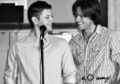 jensen & jared - jared-padalecki-and-jensen-ackles photo