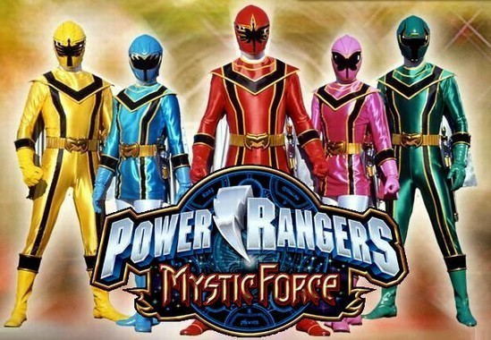 power rangers mistic force