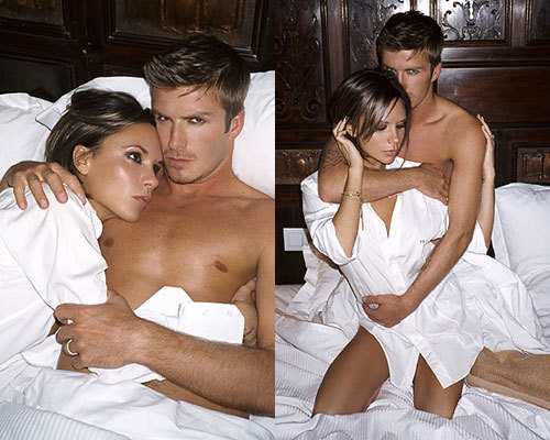 Celebrity Couples দেওয়ালপত্র probably containing skin titled victoria & david beckham