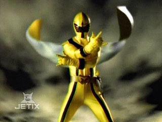 yellow mistic ranger