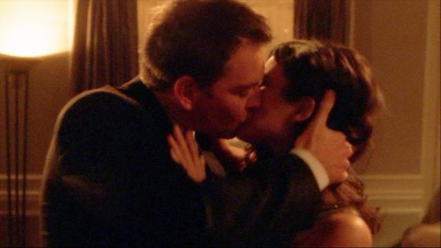 NCIS Tony and Ziva Kiss