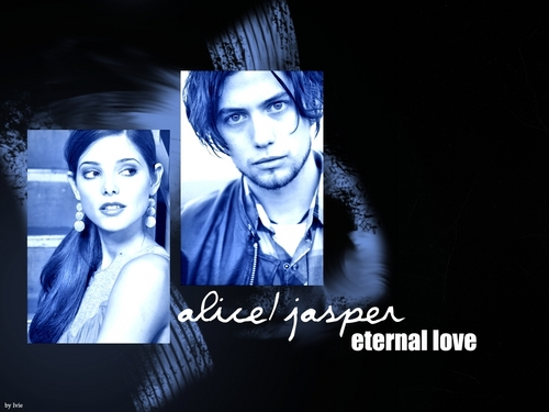 Twilight Series wallpaper entitled Alice and Jasper