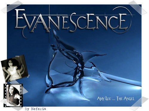 Evanescence wallpaper probably containing a sign called Amy Lee Evanescence