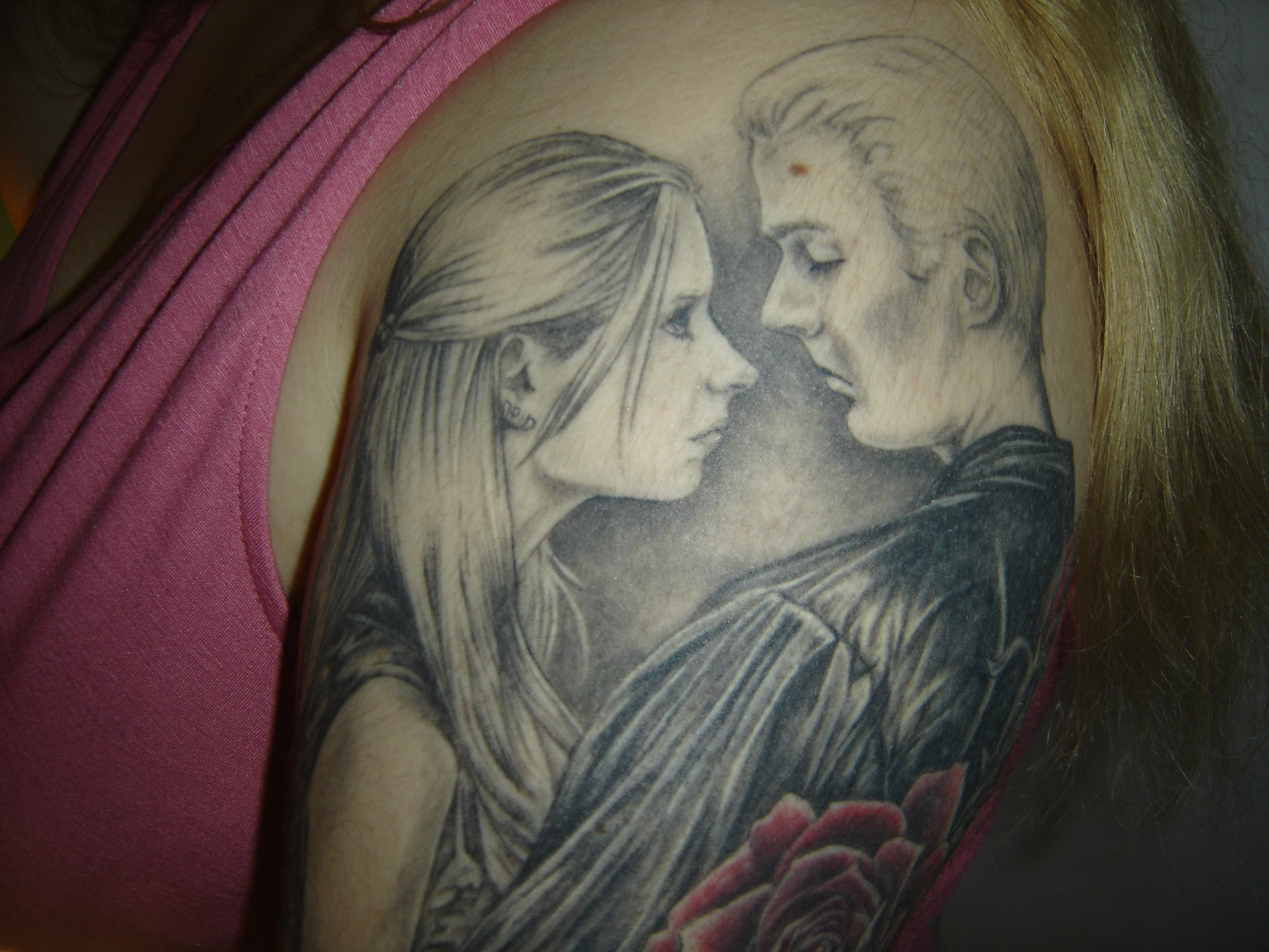 Angel Buffy Tattoo