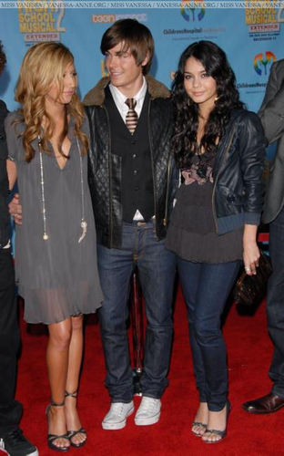 Ashley, Zac & Vanessa