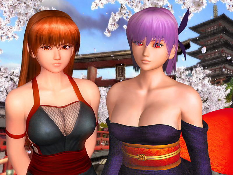 Not absolutely Dead or alive kasumi and ayane very pity