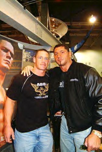 バティスタ(Batista) and John Cena