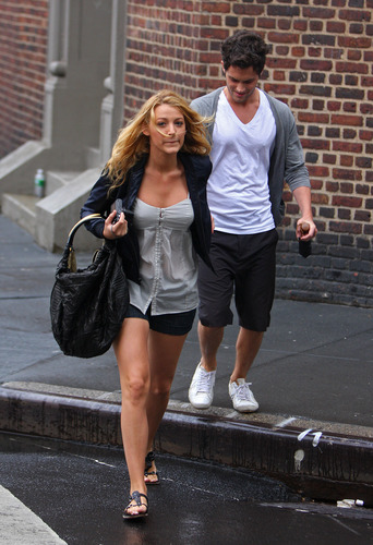 Blake out with Penn