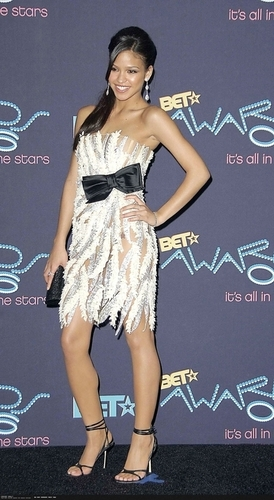 Cassie @ At BET Awards 2007