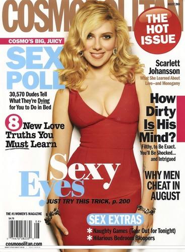 Cosmopolitan (US) - August 2008