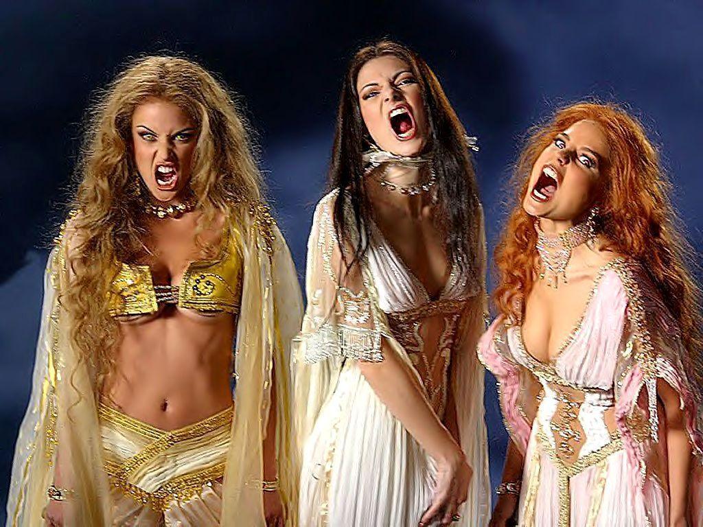 Darcula's brides - Van Helsing 1024x768 800x600
