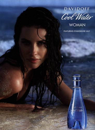 Evangeline Lilly (Cool water)