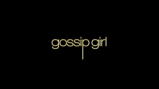 Interesting. Gossip girl book series