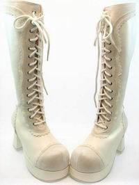 ゴシック Lolita Boots