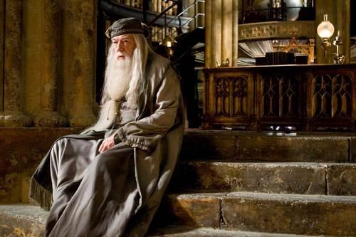 HBP Dumbledore Thinking HI-RES
