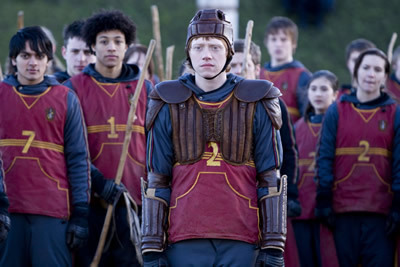 HBP Ron In Quidditch