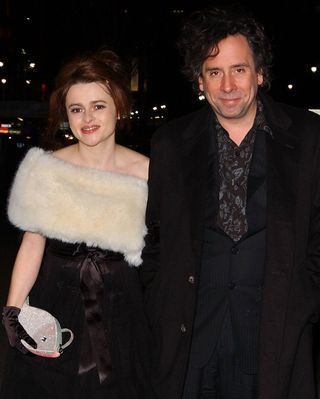 Helena and Tim - helena-bonham-carter-tim-burton Photo