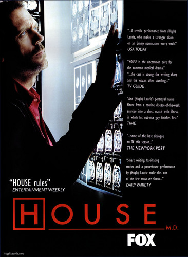 House MD Poster (Season 1)