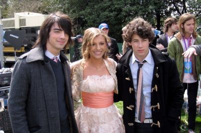 JORDAN AND THE JONAS BROTHERS