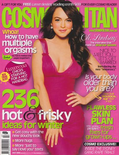 July 2006 Australian Cover