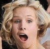 Kristen Bell photo containing a portrait entitled K. Bell goofy