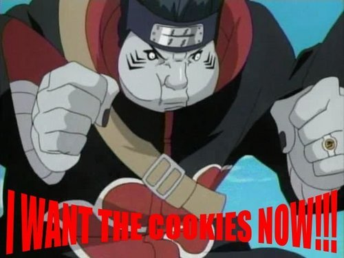 Kisame wants them CookiesxD