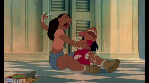 Lilo & Stitch 壁纸 entitled Lilo & Stitch Screencap