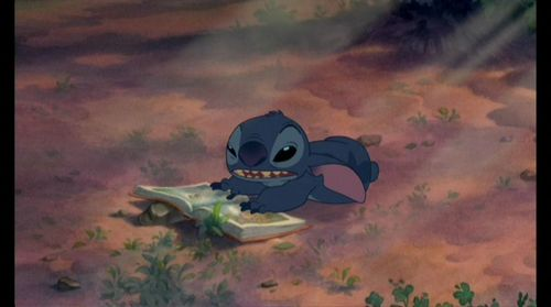 Lilo & Stitch wolpeyper possibly containing a triceratops and anime entitled Lilo & Stitch Screencap
