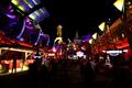Magic Kingdom-Tomorrowland at night