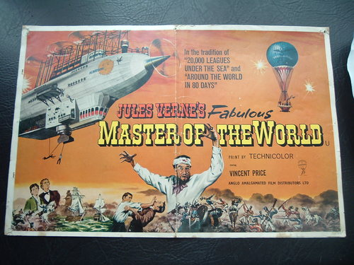 Vincent Price wallpaper with anime called Master of the World poster