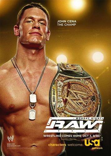 Monday Night RAW - John Cena