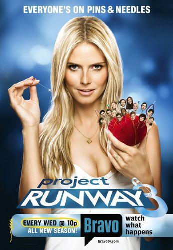 Project runway, start-und landebahn Hintergrund with a portrait entitled Project runway, start-und landebahn Season 3