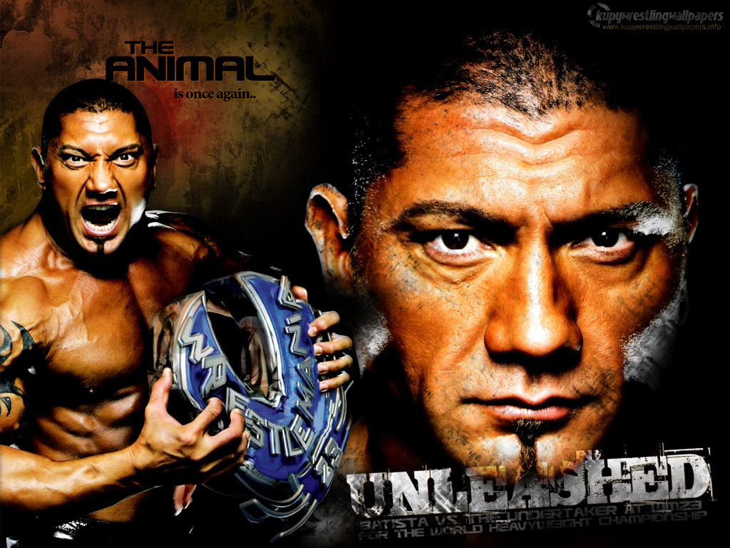 Road to WRESTLEMANIA: Batista - Batista Wallpaper (1794783) - Fanpop